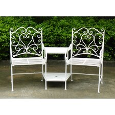 Boscabel 2 Seater Steel Love Seat