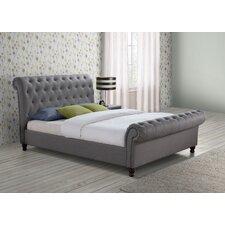 Mannum Upholstered Sleigh Bed