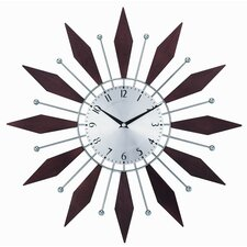 Modern Silver Chrome Wall Clocks Allmodern