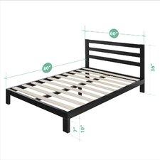 Avey Platform Bed  Mercury Row®