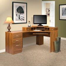 lewisville reversible computer desk - Corner Computer Desks