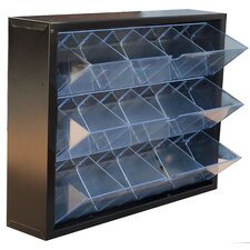12-Compartment Tip-Out Bin