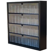 16-Compartment Tip-Out Bin
