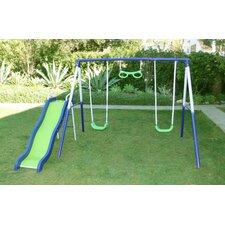 Sierra Vista Metal Slides and Swing Set