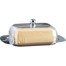 Studio Acrylic Cover Butter Dish