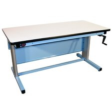 Workstation with ESD Laminate