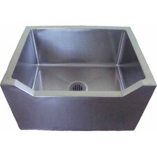 "27"" x 21"" Single Mop Sink with Drop Front"