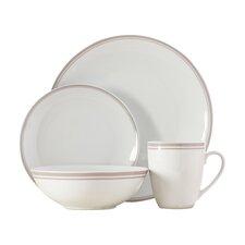 Wayfair Basics 16 Piece Striped Dinnerware Set