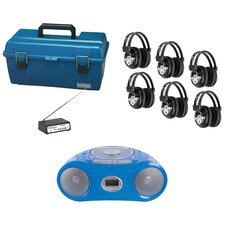 6 Person Wireless Val-U-Pack CD Listening Center