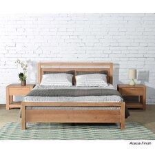 Loft Queen Platform Bed  Grain Wood Furniture