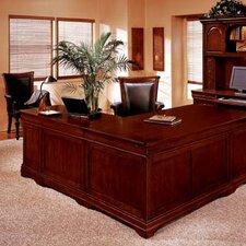 "Flannagan 72"" L-Shape Executive Desk"