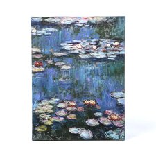 Water Lillies by Claude Monet Painting Print on Wrapped Canvas