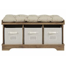 Liller Upholstered Storage Entryway Bench