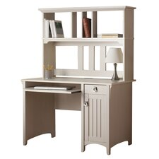 Salinas Computer Desk with Hutch