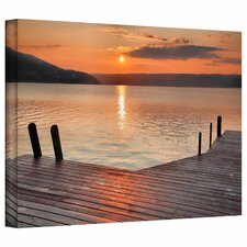 Another Keuka Sunrise by Steve Ainsworth Photo Graphic Print on Canvas