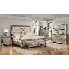 Chesmore Panel 5 Piece Bedroom Set