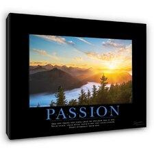 Classic Passion Sunrise Motivational Photographic Print