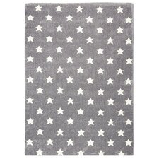Innenteppich Little Stars in Silber/Grau