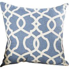 Alberts Damask Cotton Throw Pillow