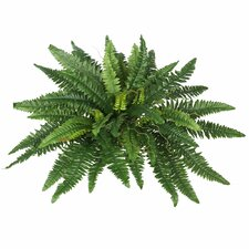 Artificial Boston Fern Bush Foliage Plant