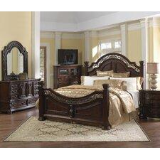 San Marino Sleigh Customizable Bedroom Set