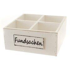 Holzbox Fundsachen