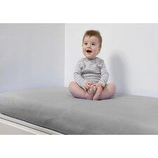 Breathable and Waterproof Flat Crib Sheet