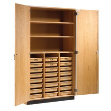 Tote Classroom Cabinet with Bins