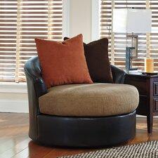 Red Barrel Studio Roquefort Cuddler Barrel Chair Wayfair