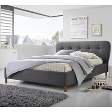 Aldo Upholstered Platform Bed  Latitude Run