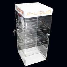 OnDisplay Deluxe Locking e-Juice Display Cabinet
