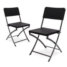 Bastian Metal Folding Chair (Set of 2)