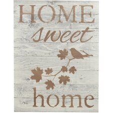 """""""Home Sweet Home"""" Wooden Pallet Sign Wall Décor"""