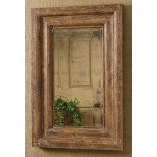 Distressed Wood Mirror