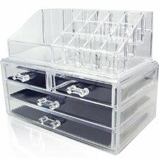 Jewelry and Cosmetic Storage Display Box Set