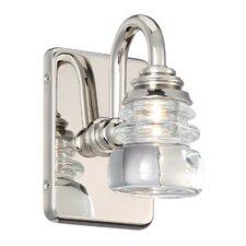 Rondelle 1-Light LED Armed Sconce