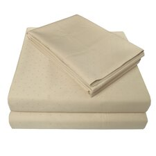 4 Piece 400 Thread Count Egyptian-Quality Cotton Sheet Set