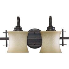 Prairie 2-Light Vanity Light