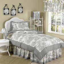 French Toile Kid Twin Bedding Collection