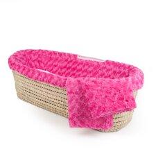 Twisted Fur Moses Basket Set