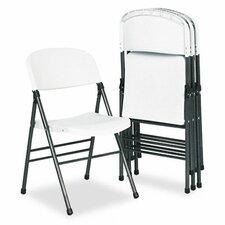Bridgeport Endura Resin Molded Folding Chair, 4/Carton
