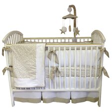 Riley 4 Piece Crib Bedding Set