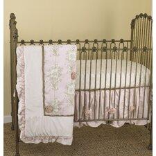 Lollipops & Roses 3 Piece Crib Bedding Set