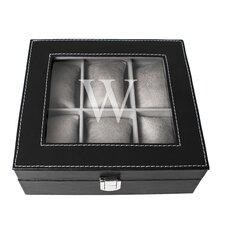 Personalized Leatherette Watch Box