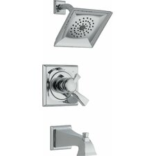 Dryden Diverter Tub and Shower Faucet with Lever Handle