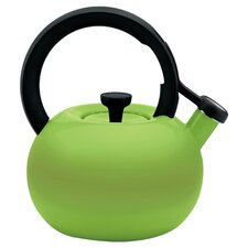 Circles 2 Qt. Stainless Steel Stove Tea Kettle