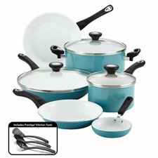 Purecook Ceramic Nonstick Cookware 12 Piece Cookware Set