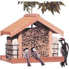 Deluxe Chalet Suet Bird Feeder