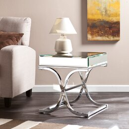 mirroed furniture. mirrored end tables mirroed furniture