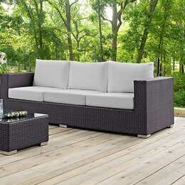 Lounge sofa outdoor  Modern Outdoor Lounge Furniture | AllModern
